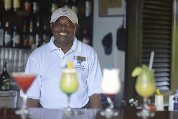 * Harold Shepherd, the bar's namesake