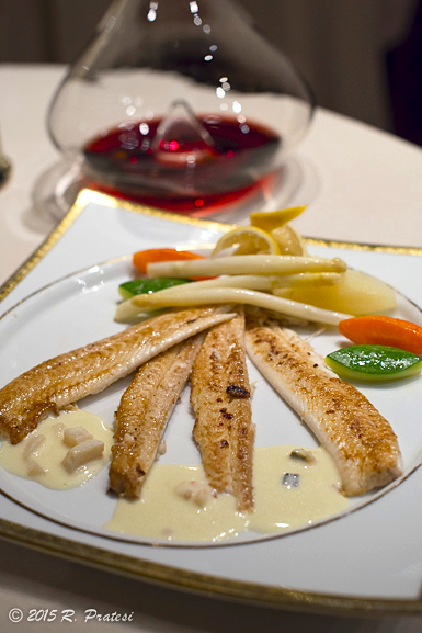 Dover Sole with Camembert Bouillon