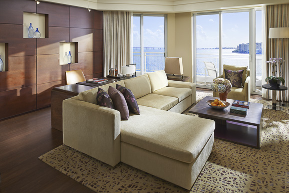 * Mandarin Oriental accommodations