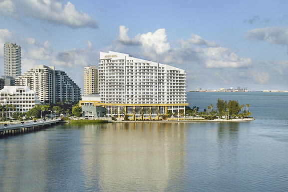 The Mandarin Oriental on Brickell Key