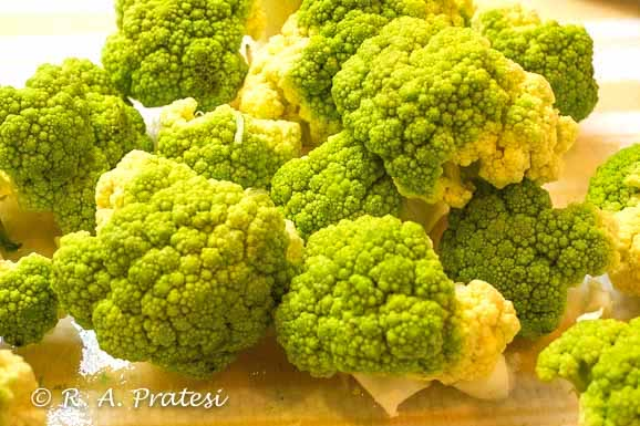 Broccoflower or green cauliflower is different in taste from the traditional white variety