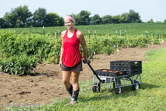 Farmer Brooke Eckmann