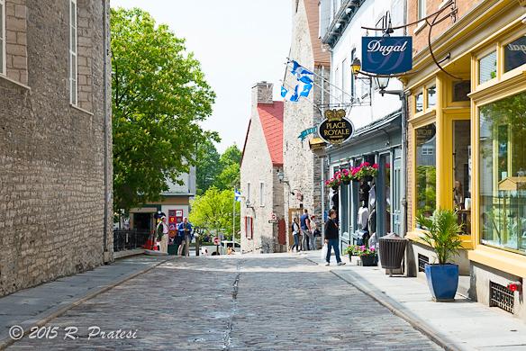 The Petit Champlain district