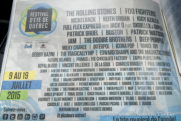 The lineup for this summer's festival was impressive