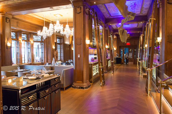 There are also many fine dining experiences such as the Champlain Restaurant