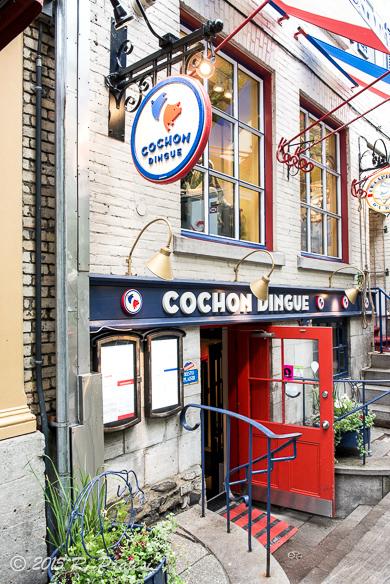 Cochon Dingue is a very popular spot