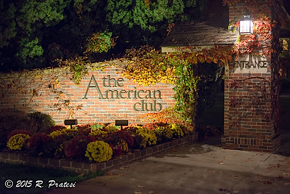 Entrance to The American Club and Resort