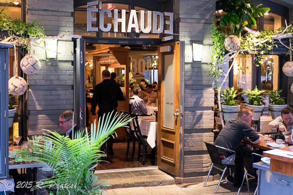 Entrance to L'Échaudé