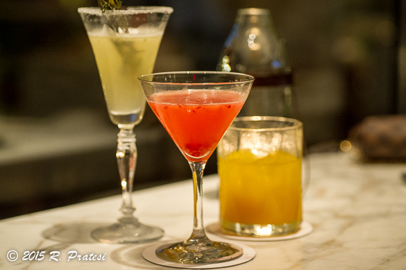 Handcrafted cocktails at Jack Dusty