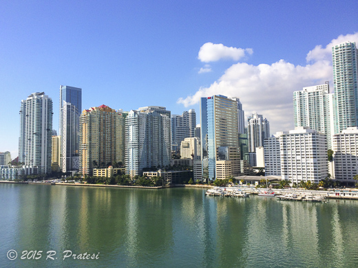 Views of Miami from Mandarin Oriental