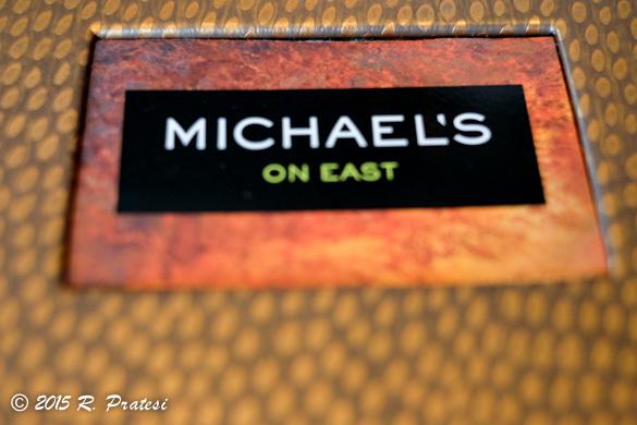 Menu at Michael's on East