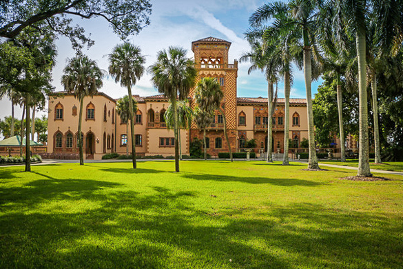 * The Ringling Museum and complex