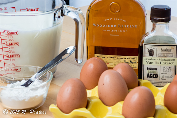 Bourbon is a nice touch and elevates the flavor making it more like eggnog