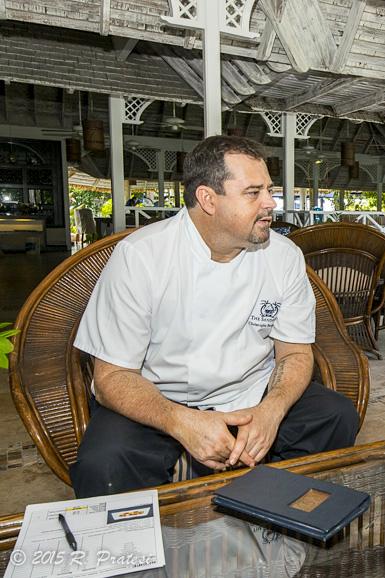 Executive Chef Christophe Poupardin