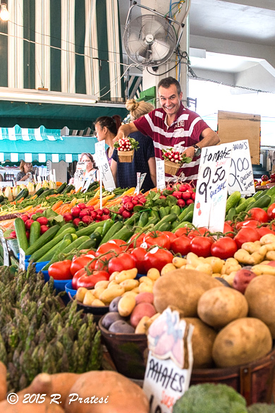 Spectacular produce at the Jean-Talon Market