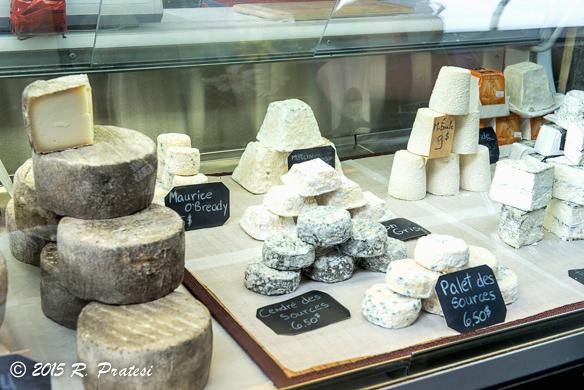 Québec cheeses at Marché des Saveurs, Jean-Talon Market