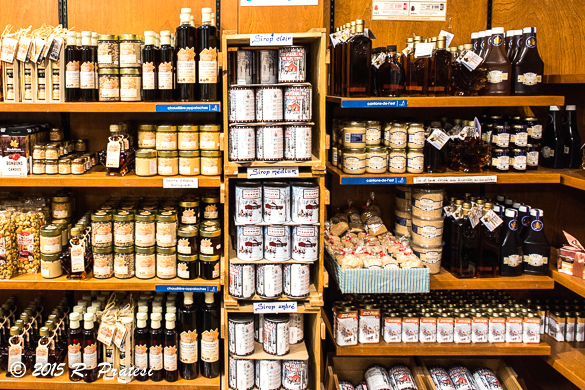 Marché des Saveurs features regional products from Québec