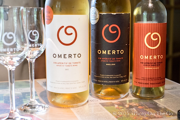 Omerto, a Charelvoix specialty wine