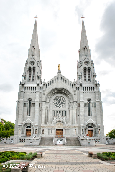 The Basilica of Sainte-Anne-de-Beaupré