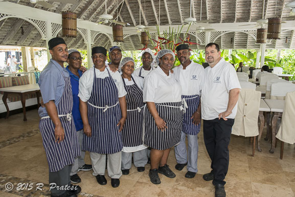 The Sandpiper's kitchen staff
