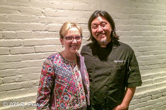 With Chef Ed Lee