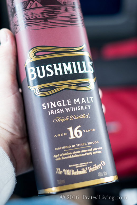 When in Northern Ireland, we drink Bushmill's at the distillery