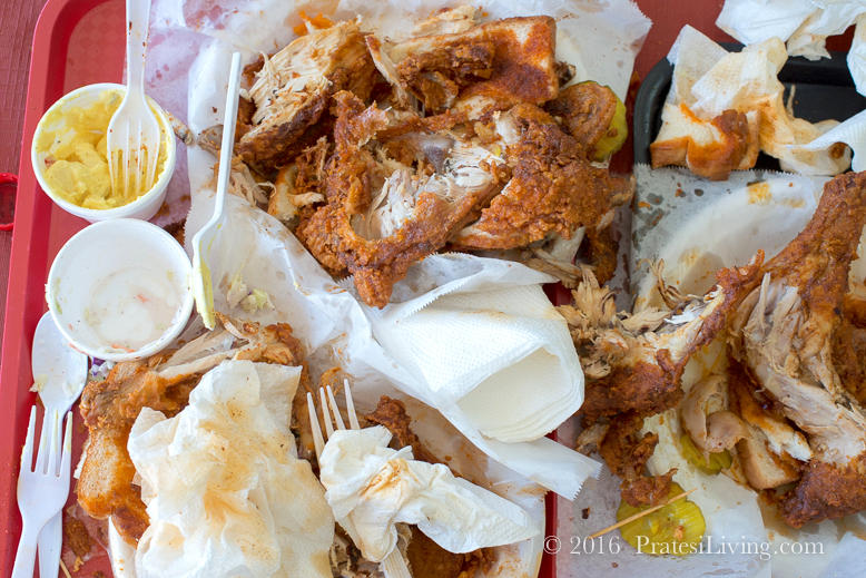 Hot Chicken mess at Prince's