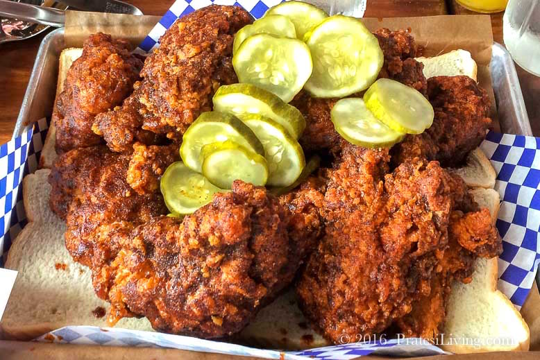 Hot Chicken at Feast BBQ