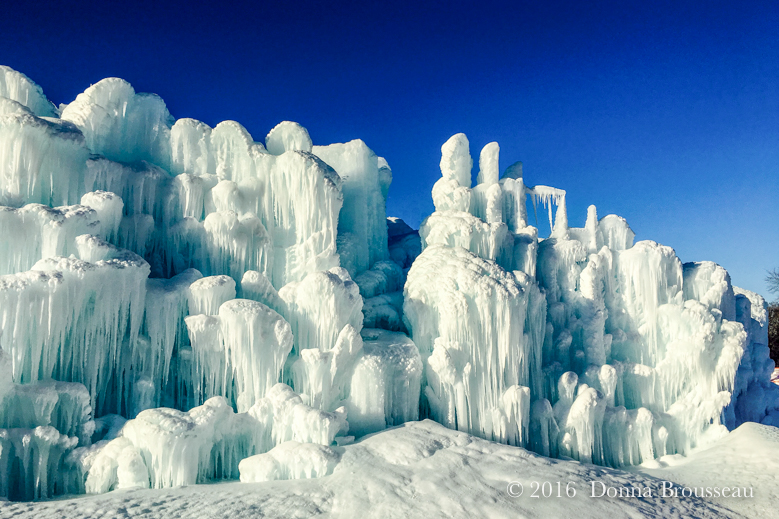 Ice Castles by Day