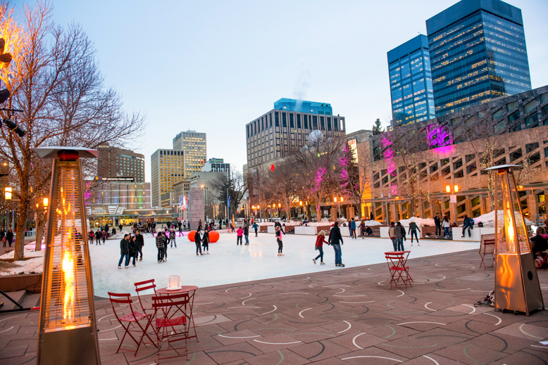 Ice Skating in Edmonton
