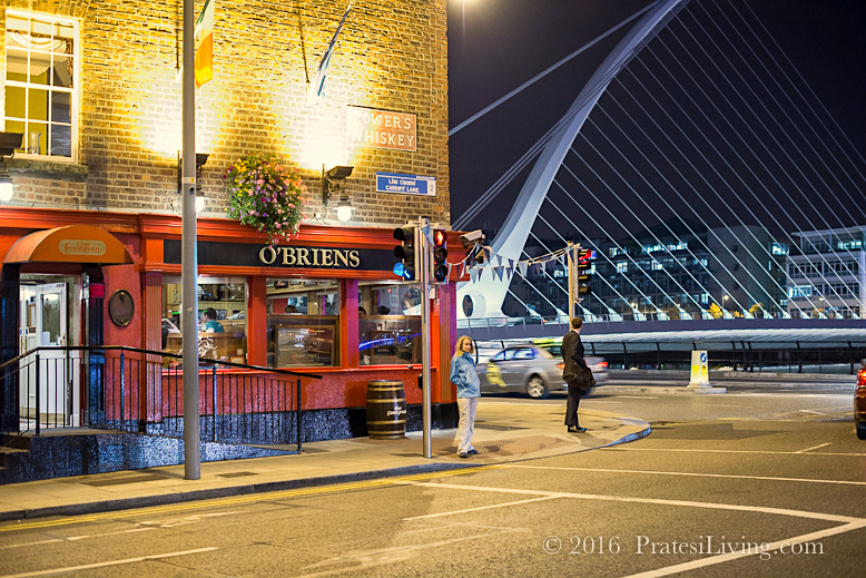 O'Brien's Pub was around the corner from The Marker Hotel