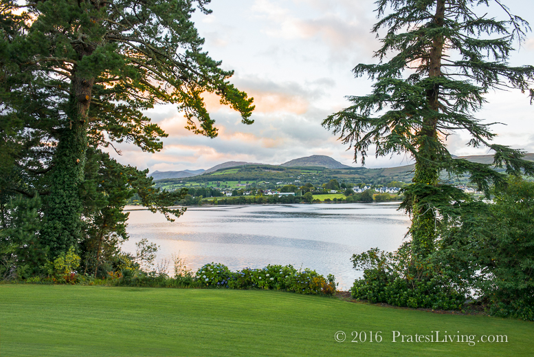 The view from our hotel in Kenmare