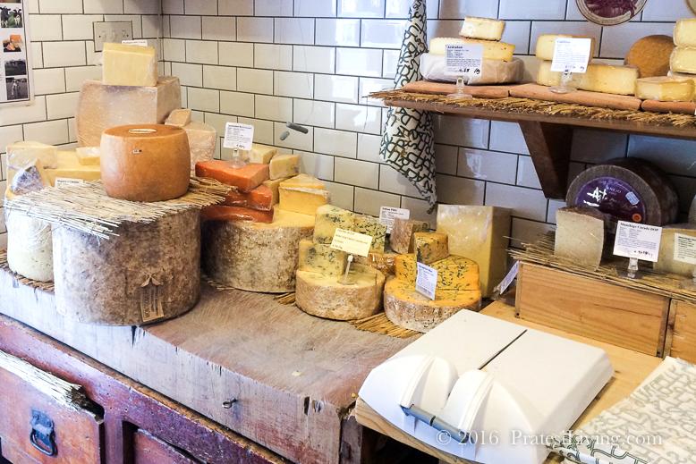 Delicious farmhouse cheeses