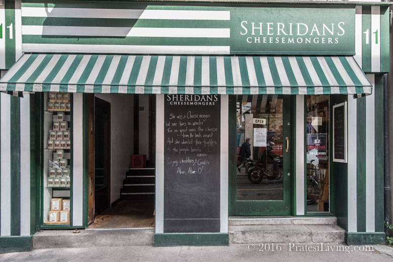 Entrance to Sheridans