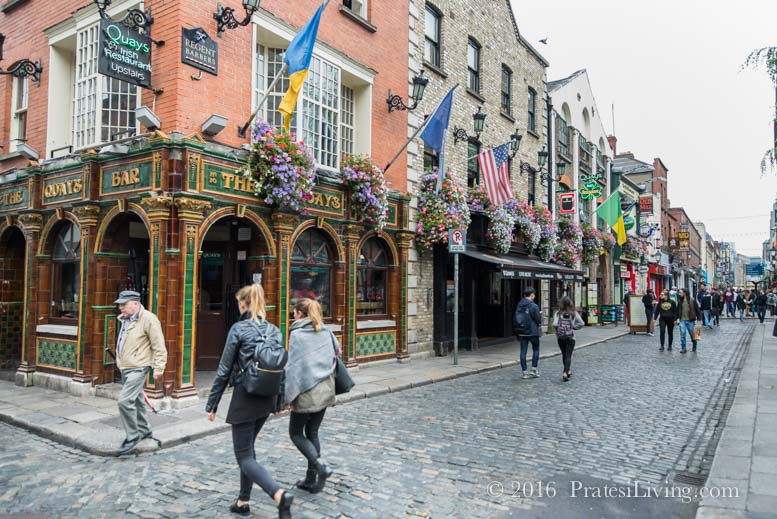 A street in Temple Bar