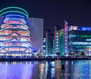 """The """"Tube in the Cube"""" along the River Liffey"""