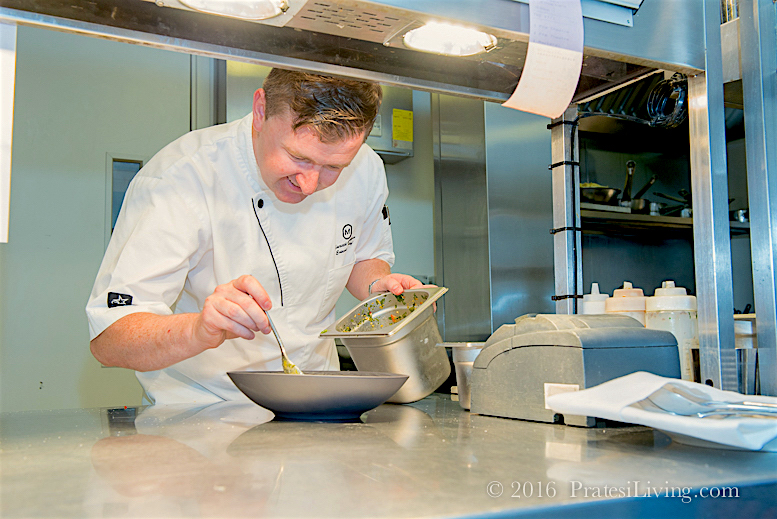 Chef Gareth Mullins
