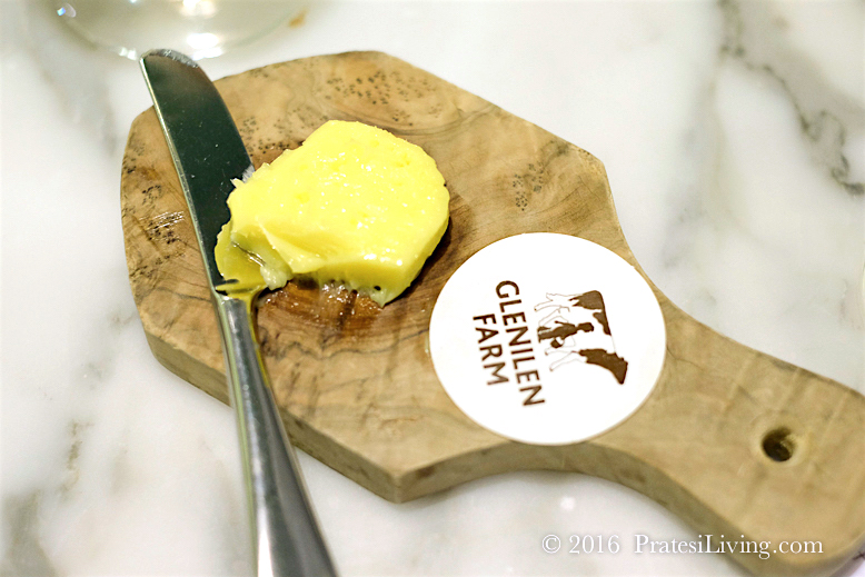 Creamy Irish butter from a local farm
