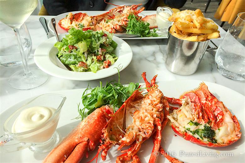 Local Lobster, Garlic Aioli, Parmesan & Truffle Fries