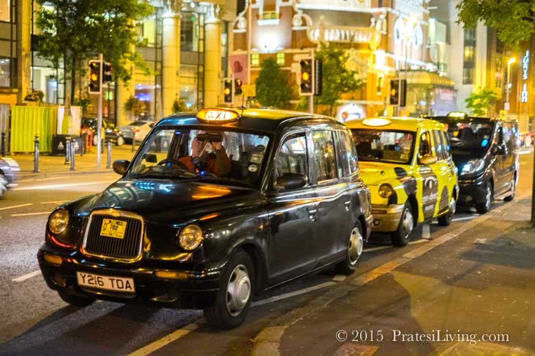 Take a ride in a London Black Cab