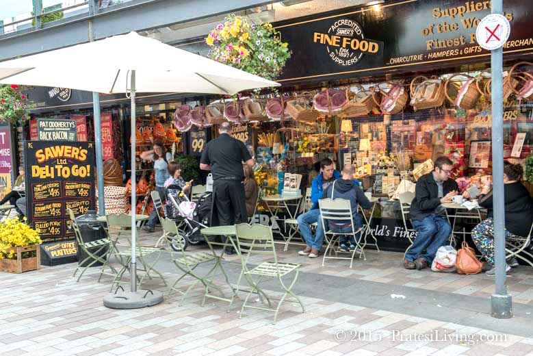 Pick up a quick lunch at one of the markets in the city