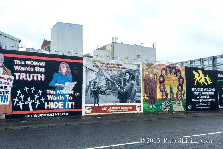 Visit the Belfast Murals during a Political Tour