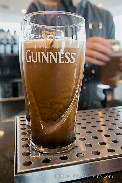 Guinness at the Storehouse