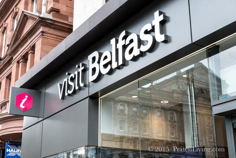 Stop by Visit Belfast for great guides and information to begin your tour of Belfast
