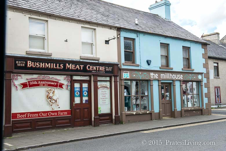 The town of Bushmills