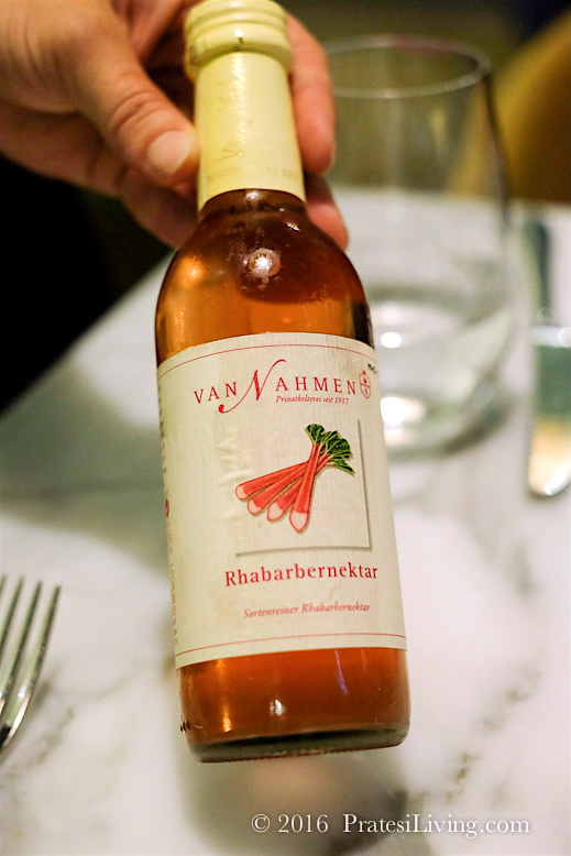 A light organic dessert wine