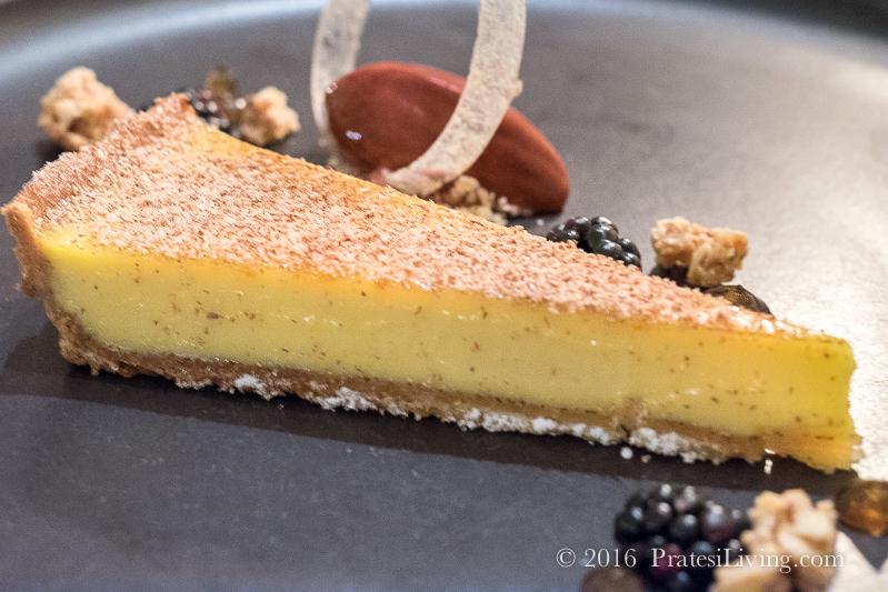 Pre-dessert - Cherry and Pistachio