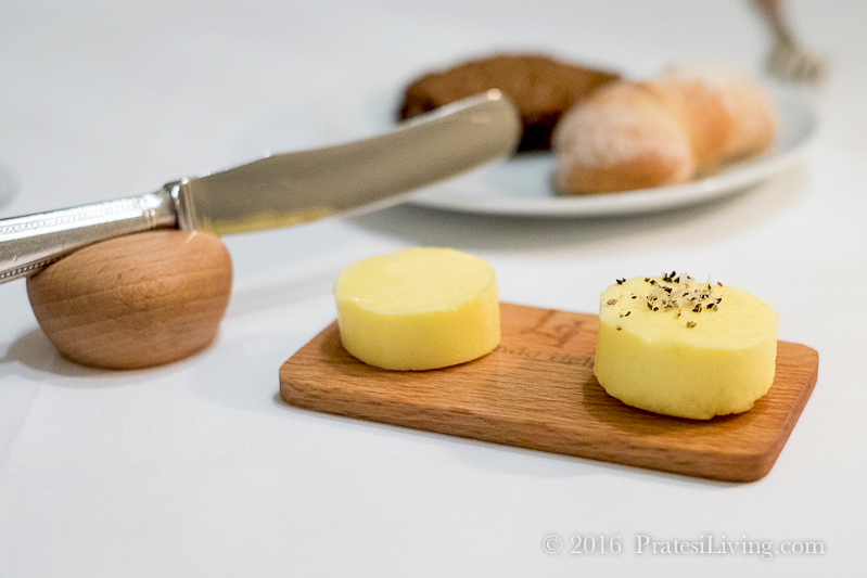 We began every meal with fresh Irish butter and brown bread