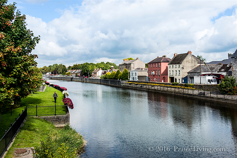 The River Nore runs through the city