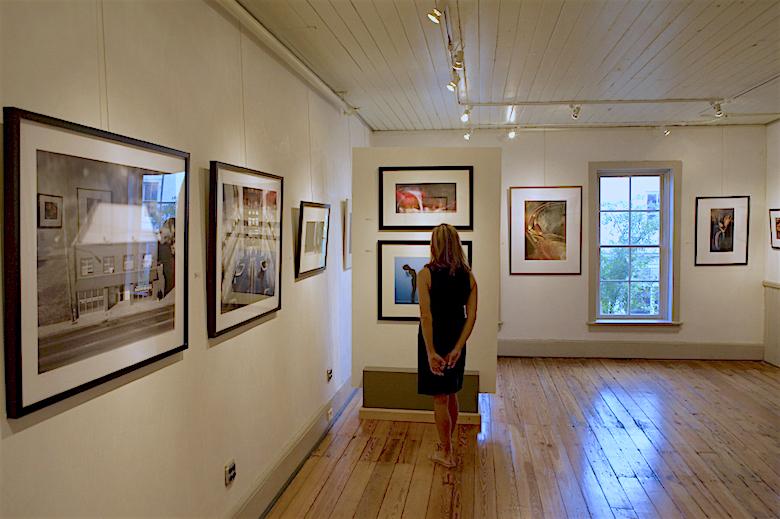 * Local art gallery